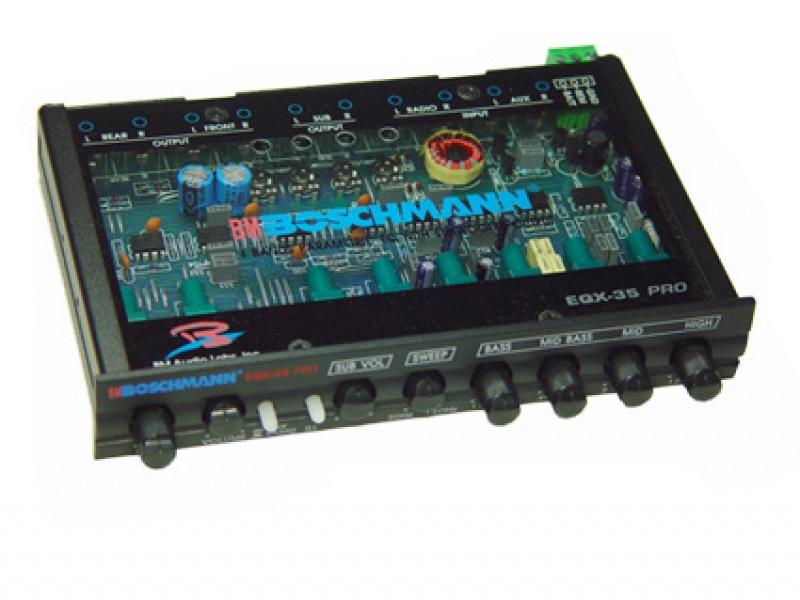 4-полосный профессиональный параметрический,графический эквалайзер   BOSCHMANN EQX-35PRO