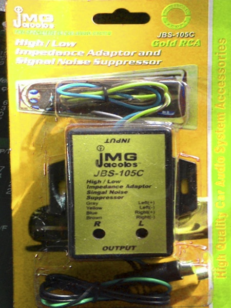 JACOBS-105С  преобразователь аудио сигнала с  НЧ на ВЧ