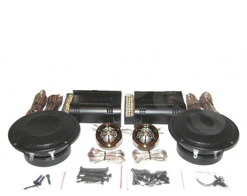 Difuzor auto component 100mm torpilă cu    Twiteere 53mm  BOSCHMANN® JR-833XT