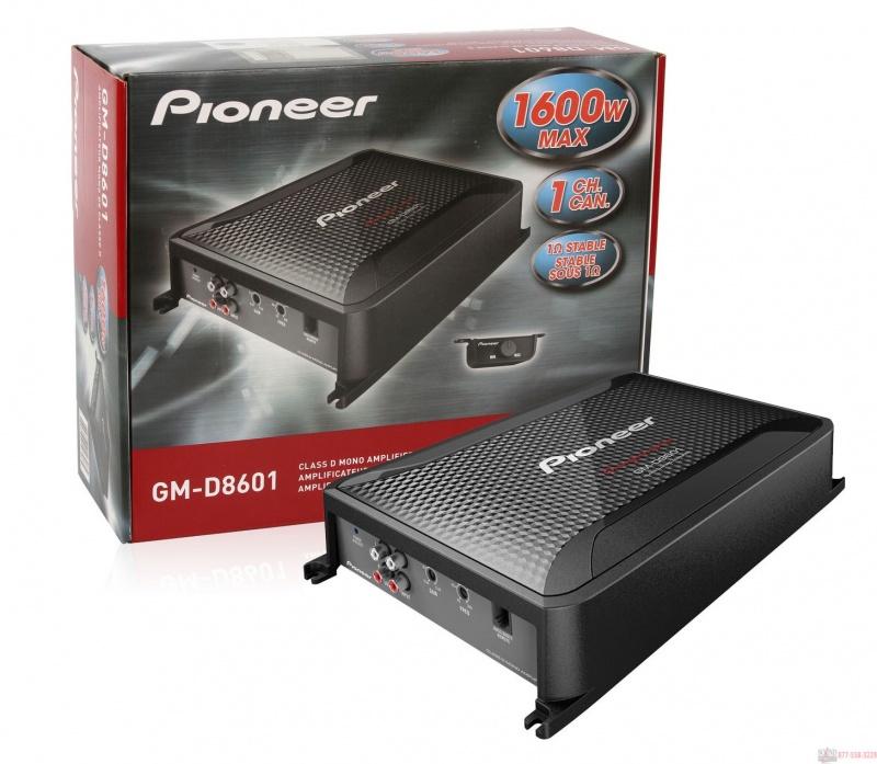 monobloc 1600W    PIONEER  GM-D8601 •  Digital